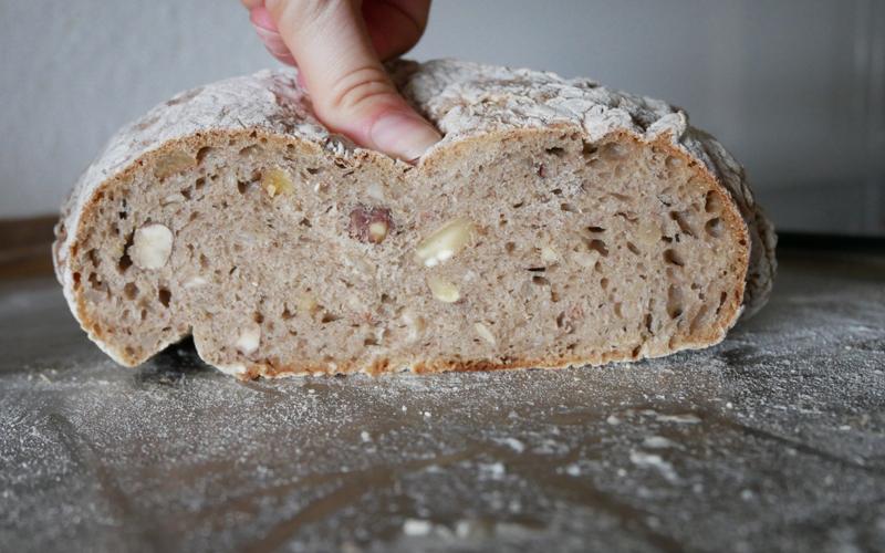 Luftig leichtes Brot